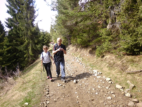 Obejście szczytu Parchowatki (1004 m n.p.m.)