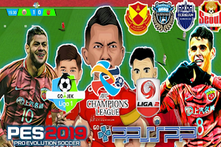 Download PES 2019 Chelito v5 AFC Champions League 1 & 2 Indonesia