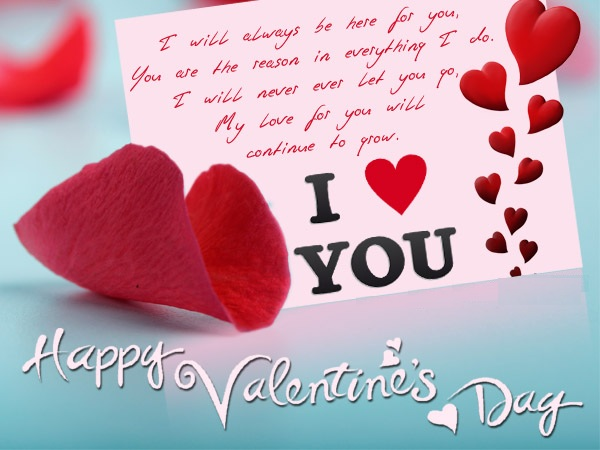 Very Romantic Image For Valentine Day