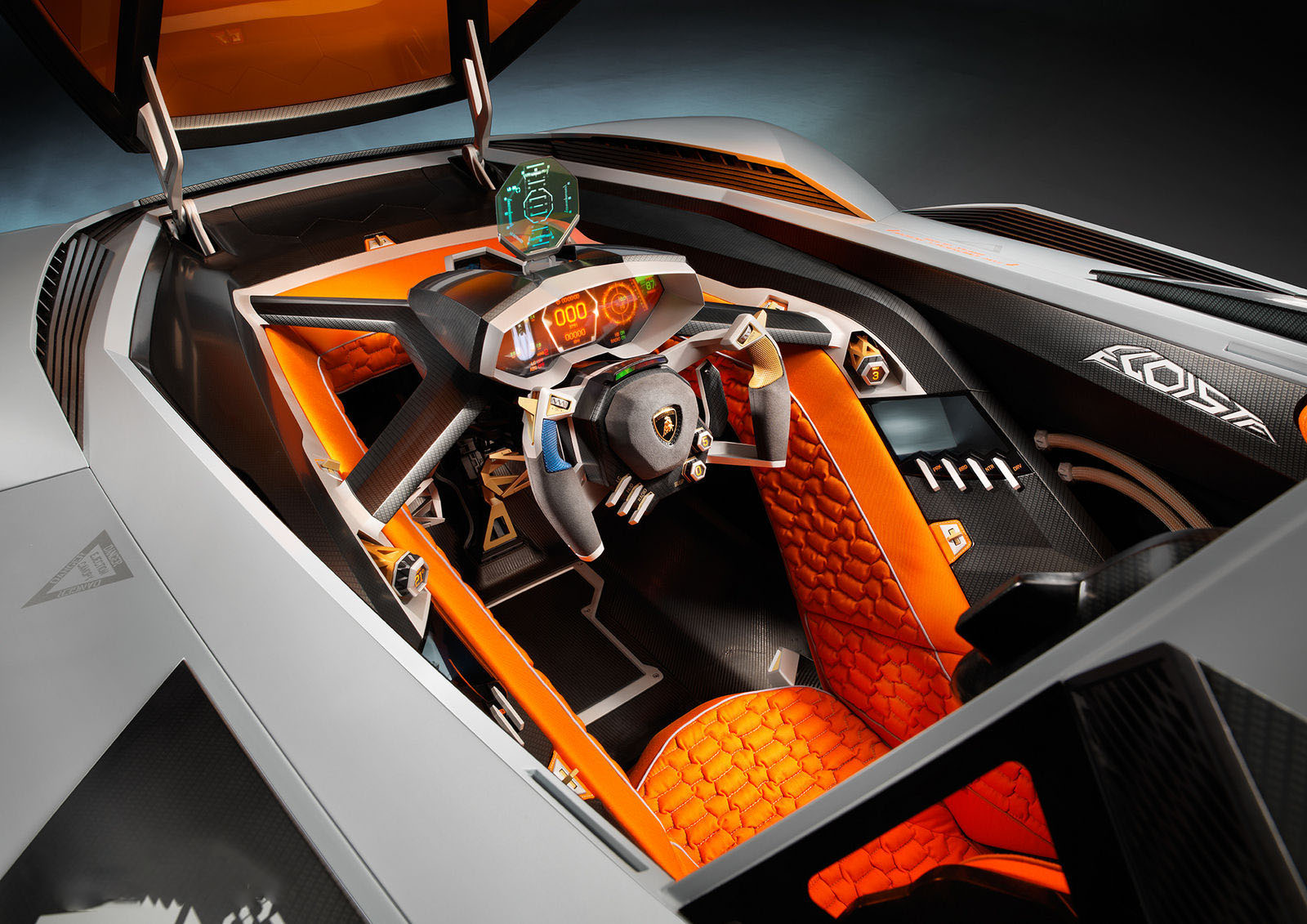 car in Lamborghini Egoista 2013