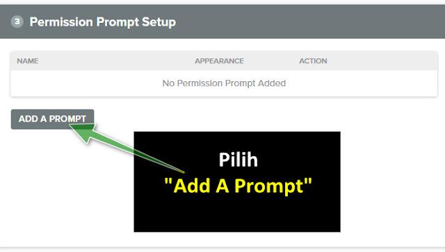 Cara Membuat Web Push Notification di Blogger