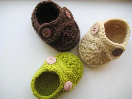 Crochet Dreamz Boy S Striders Crochet Baby Booties Pdf