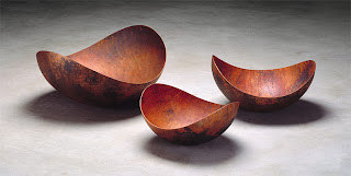 Ciotole, rame, Laurenz Stockner, copper, bowl