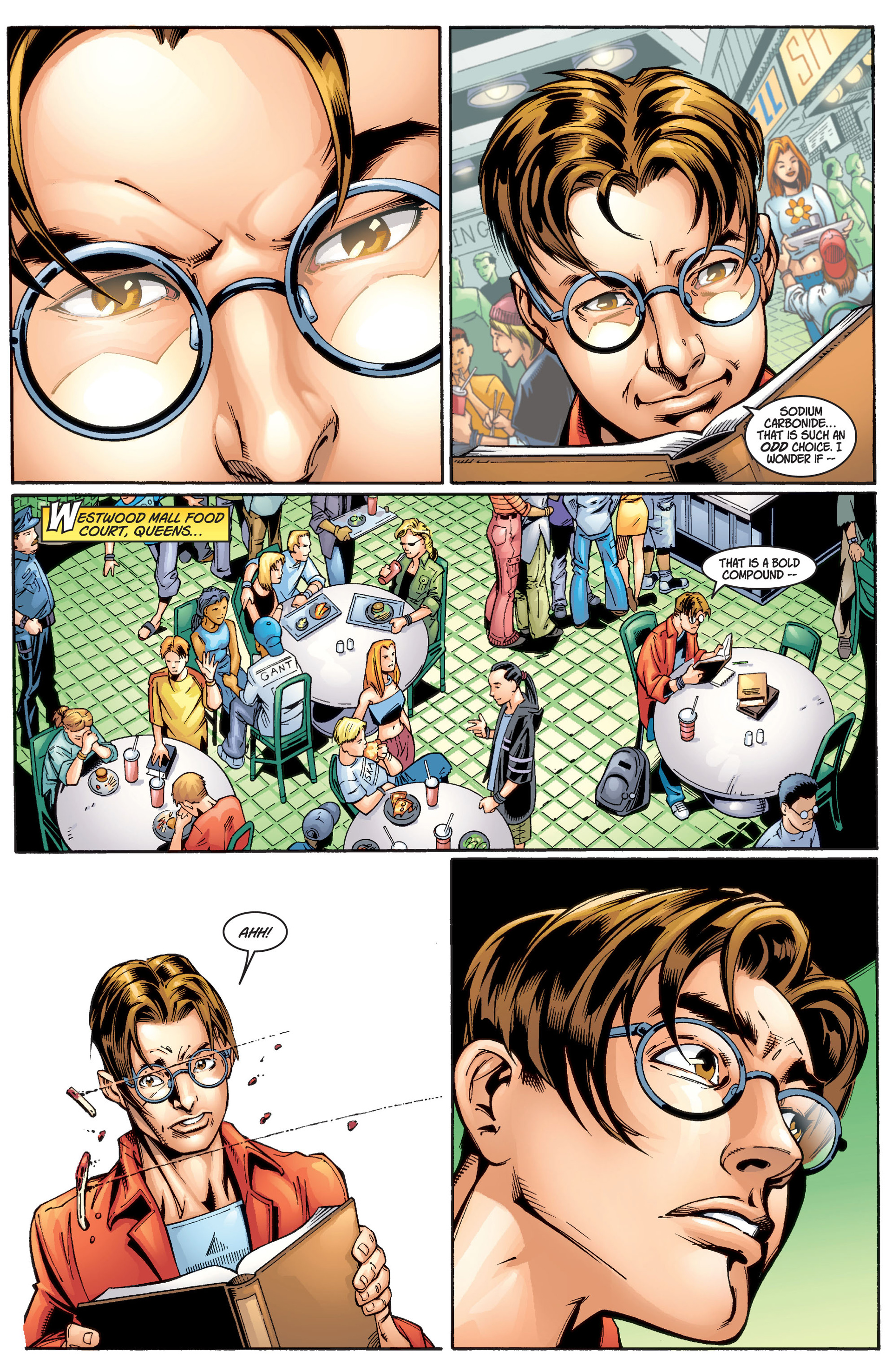 Read online Ultimate Spider-Man (2000) comic -  Issue #1 - 6