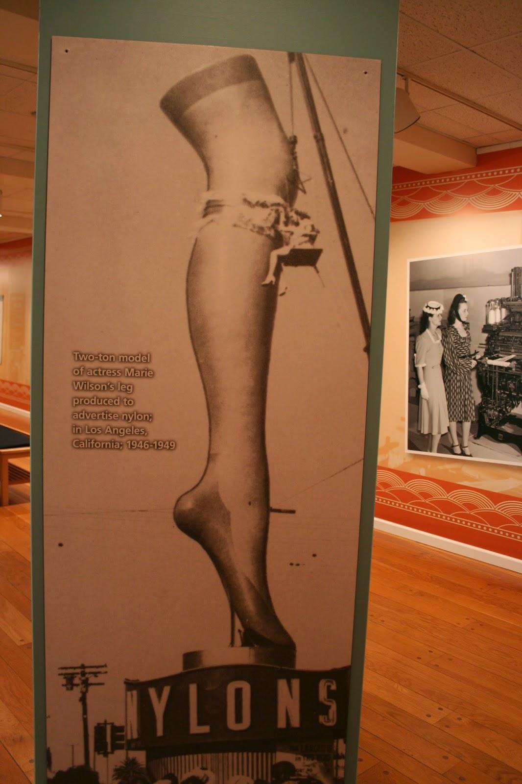 Exhibit Was Nylon Stockings 41