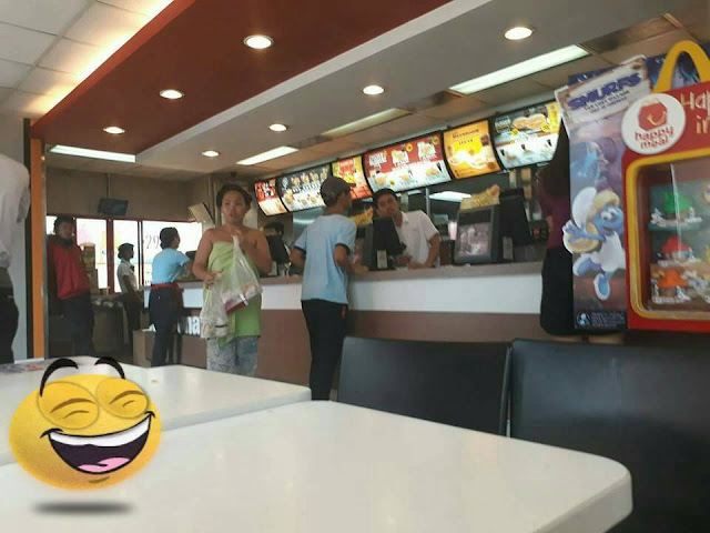 When McDo is Life: Woman Buys Food at McDonalds in PJs and a Towel