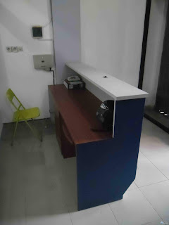 Kontraktor Interior - Front Desk, Partisi, Kursi Tamu, Cubicle Workstation, Papan Tulis Kaca