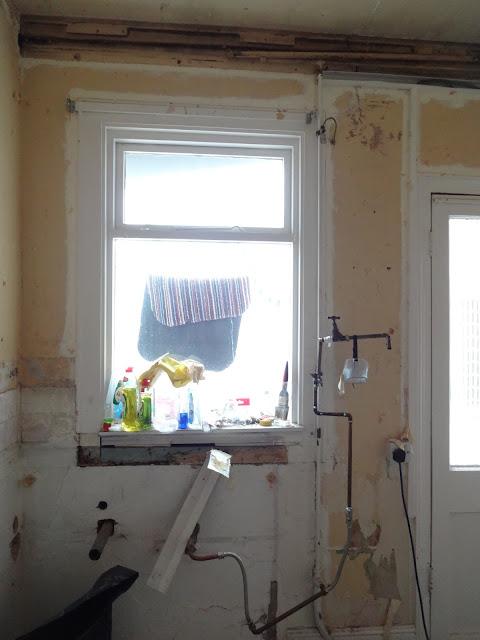 DIY makeshift kitchen tap