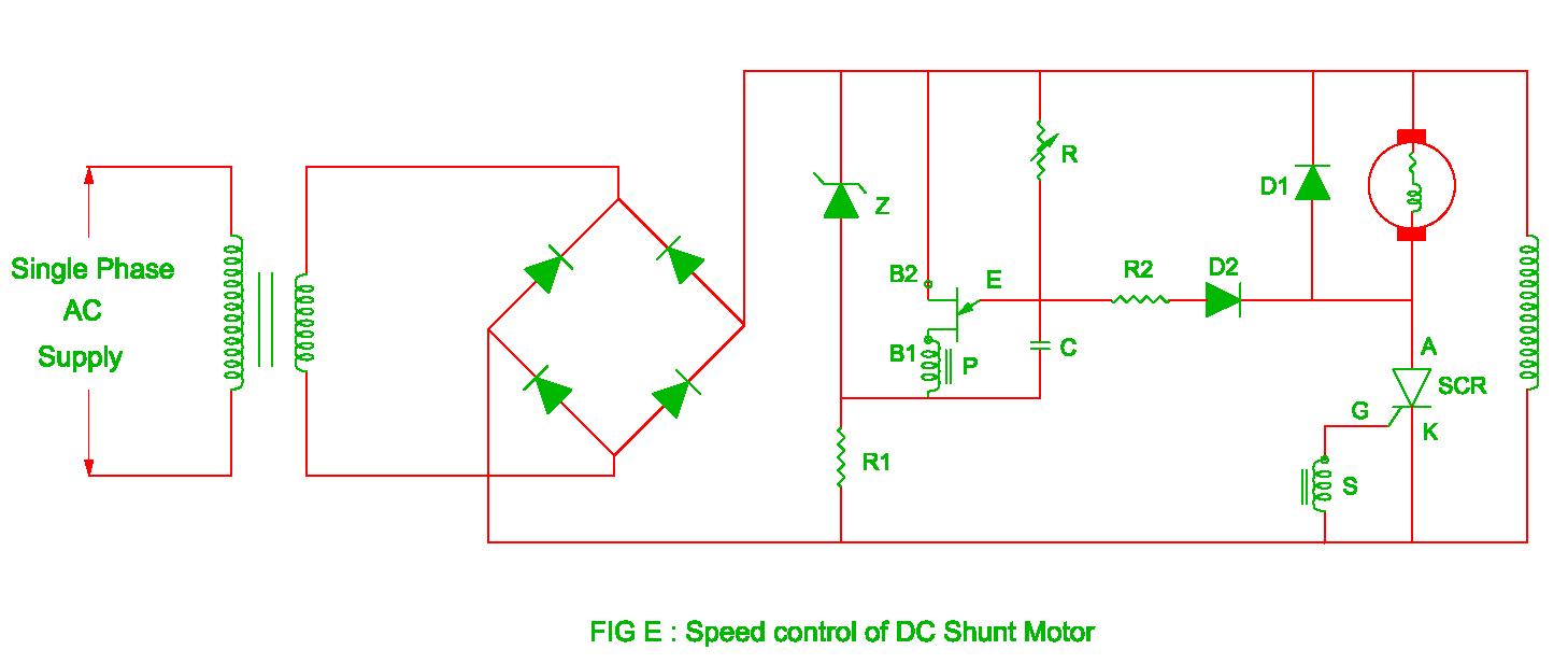 speed control of dc shunt motor [ 1458 x 617 Pixel ]