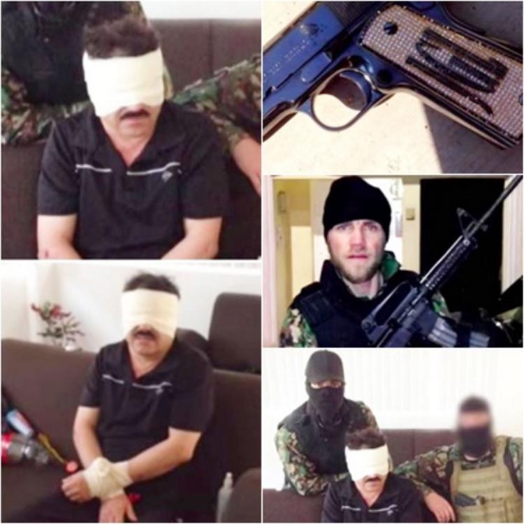 Vídeos: Ex- Agente de la DEA difunde imágenes ineditas de la captura del Chapo