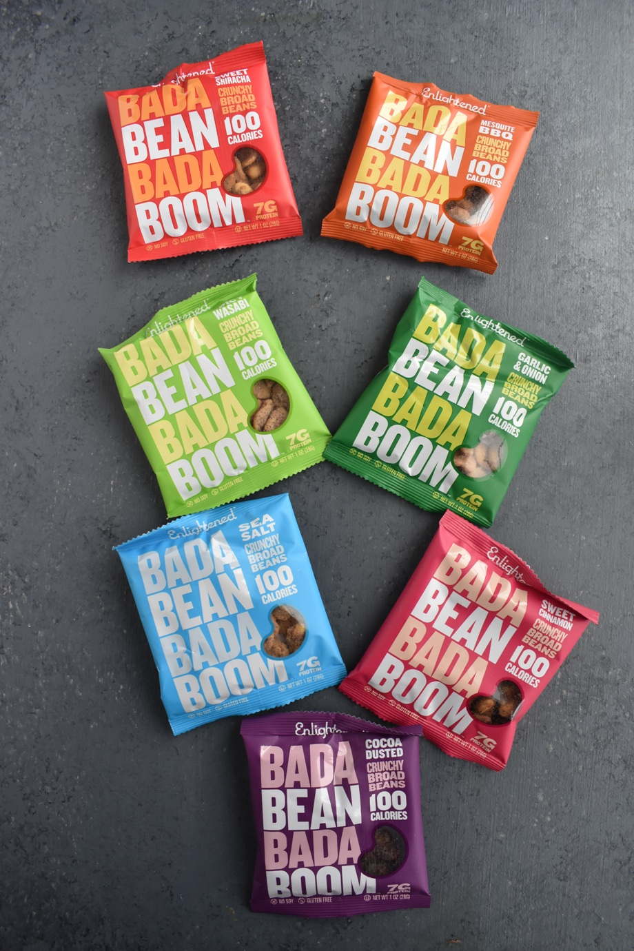 Enlightened Bada Bean Bada Boom Crunchy Broad Beans