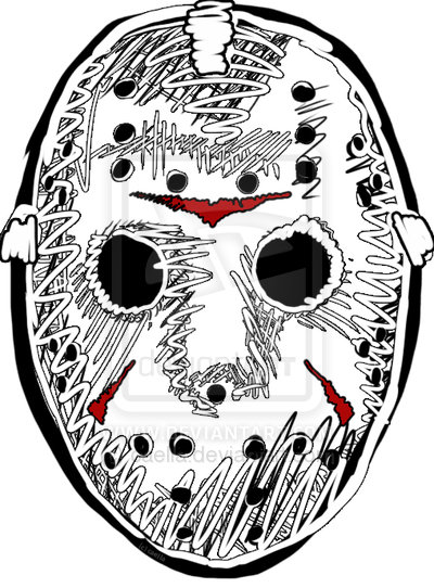 """To Print For Jason Mask Pumpkin Stencil: Dr. Theda's Crypt: A To Z... """"J"""" Is For .... Jason"""