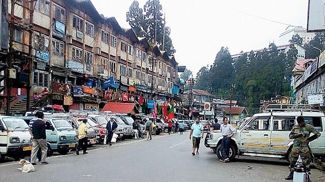 Darjeeling Old super market
