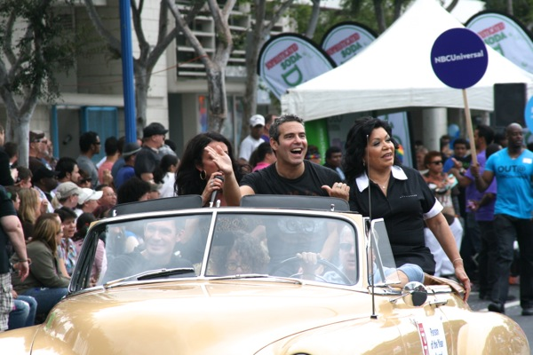 Andy Cohen West Hollywood Pride 2011