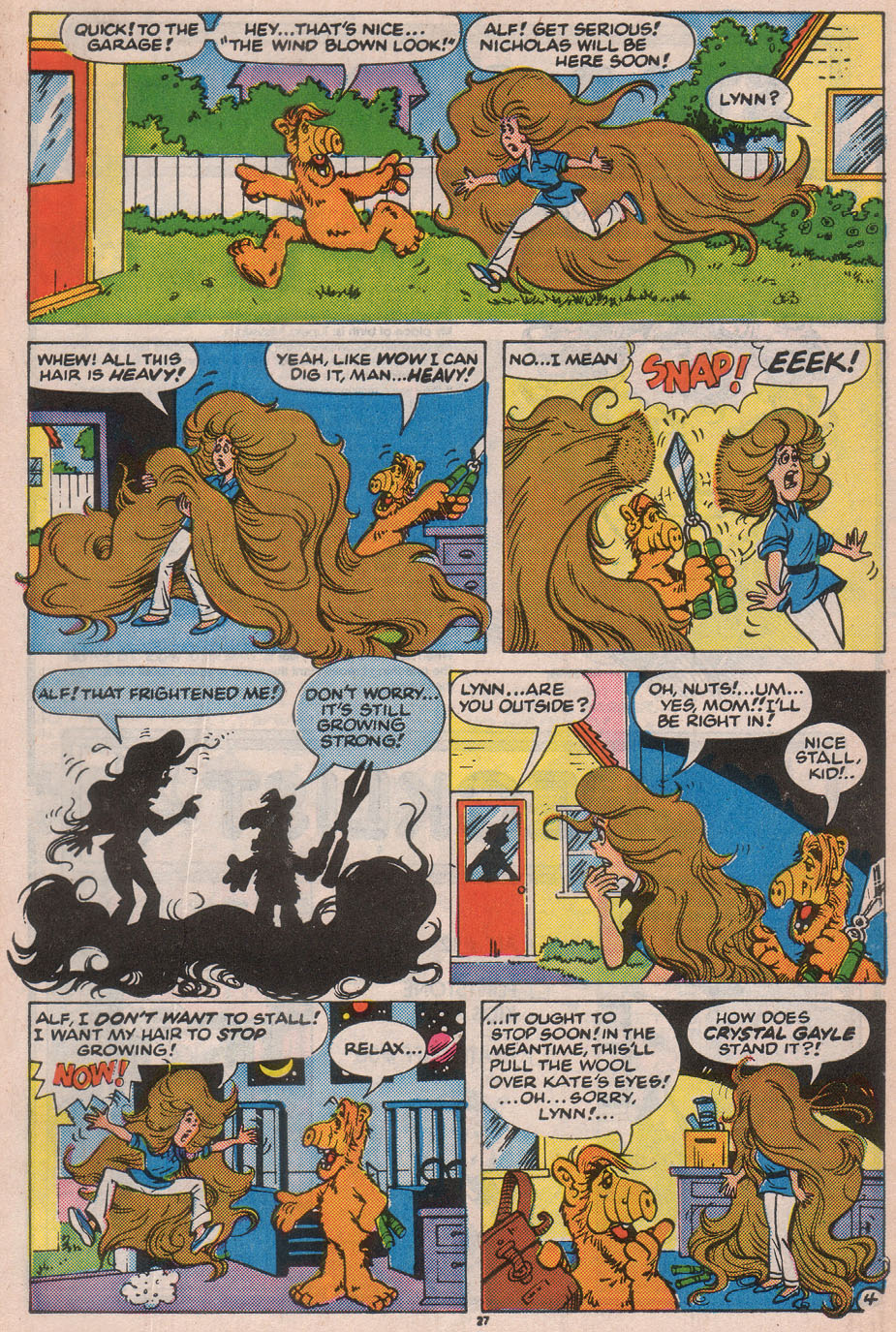 Read online ALF comic -  Issue #12 - 29