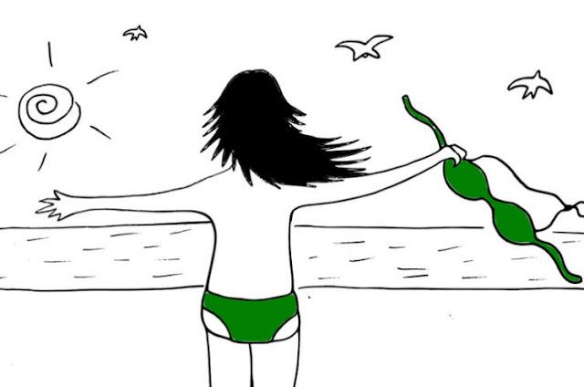 A ditadura da beleza e a garota do maiô verde