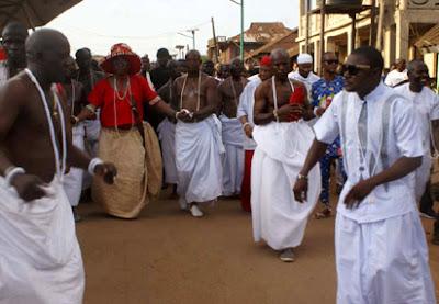 Funeral Rite of Oba of Benin Omo N'oba N'Edo Uku Akpolokpolo Oba Erediawa 222
