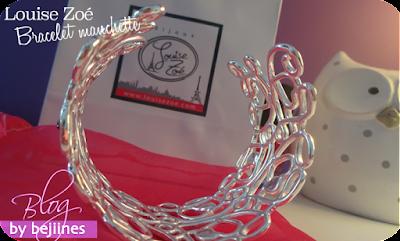 Bracelet Manchette Louise Zoé : tendance et féminin