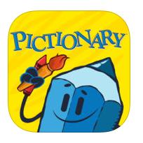 Reseña Pictionary app - juego de mesa familia - dibujar y adivinar