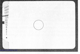 contoh lightmeter kamera analog berupa jarum