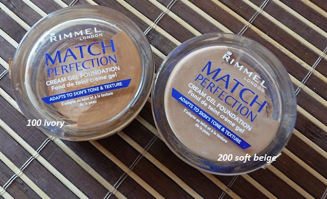 RIMMEL MATCH PERFECTION GEL