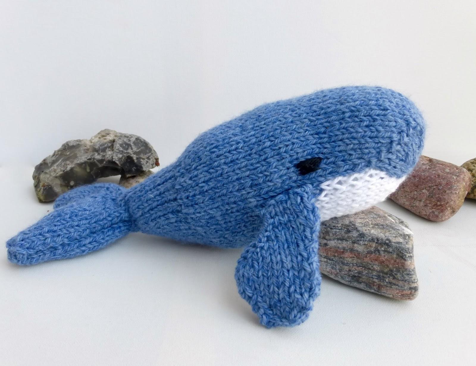 Lasse the Little Blue Whale Knitting Pattern – Yarn Birdy