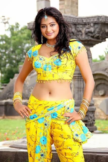 Semi Nude Half Saree Navel Photos Of South Indian -9050
