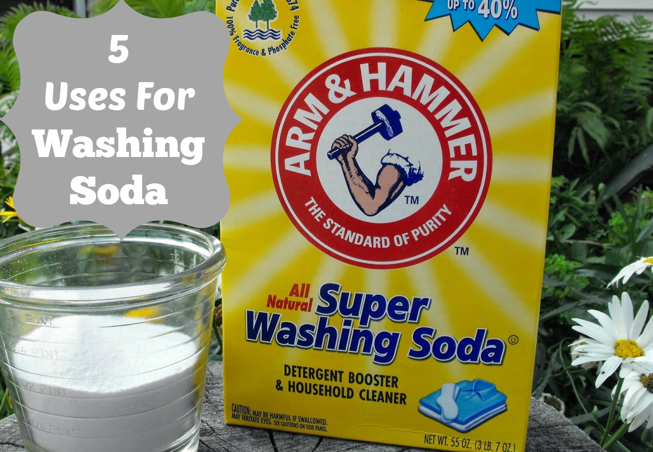 5 uses for washing soda