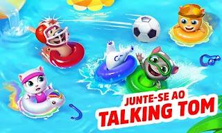 Talking Tom Pool Apk Mod Dinheiro Infinito