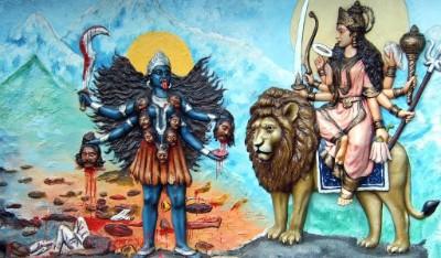 Hindu Goddess kali image