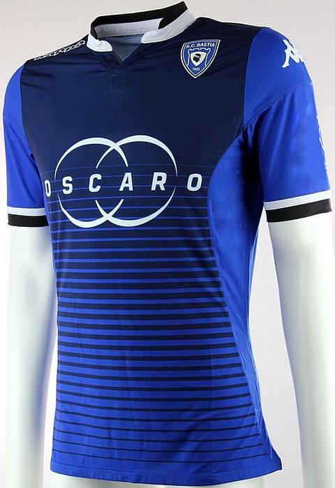 Kappa lança novas camisas do SC Bastia - Show de Camisas f7d2ac3fe66b6