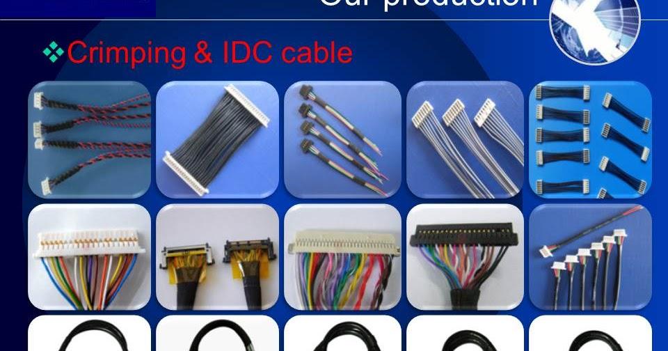 I Pex Cable Manufacturers Sgc Lvds Cable Edp Lvds Cable