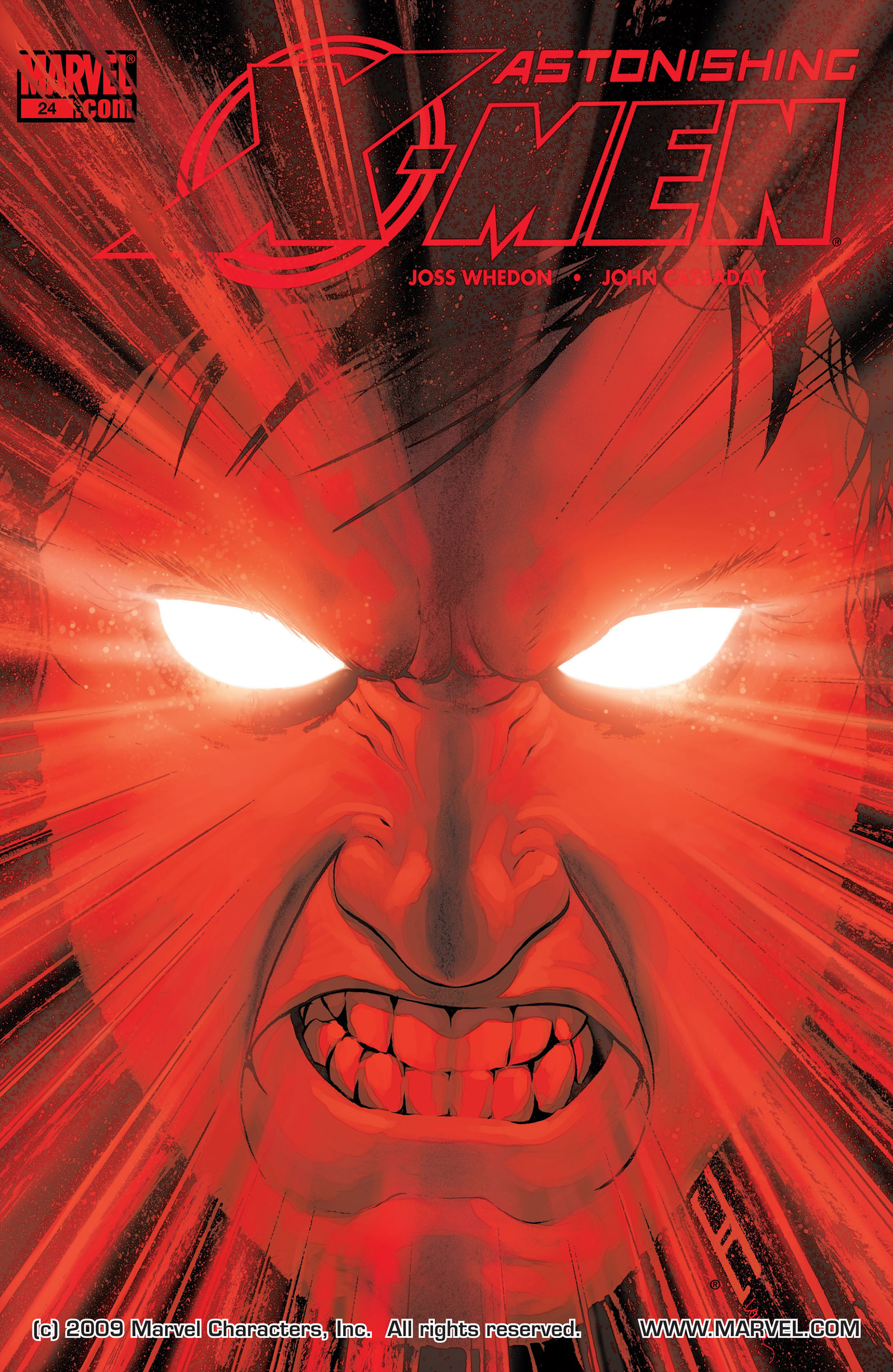 Read online Astonishing X-Men (2004) comic -  Issue #24 - 1
