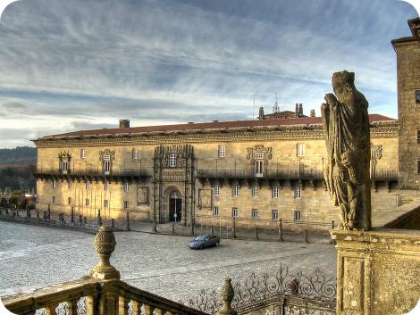 Parador Reyes Católicos, Santiago de Compostela
