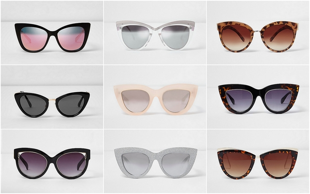 zonnebrillen trend 2017 cat eye inspiratie