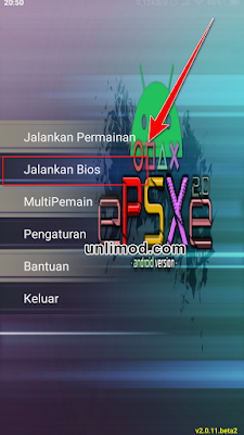 cara main game ps1 di android