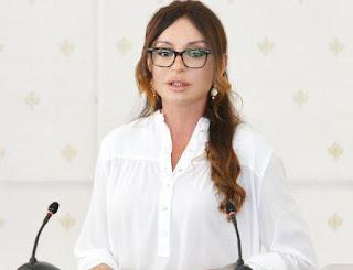 Mehriban Əliyevaya Müqəddəs Mələksima Knyaginya Olqa ordeni verildi