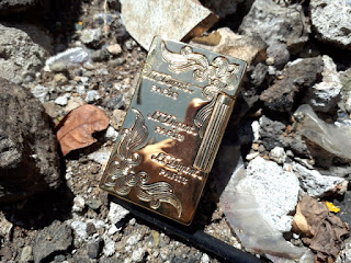Korek Api Mewah S.T. Memorial Dupont Seri LE001 Bright Sound Metal Luxury Lighter