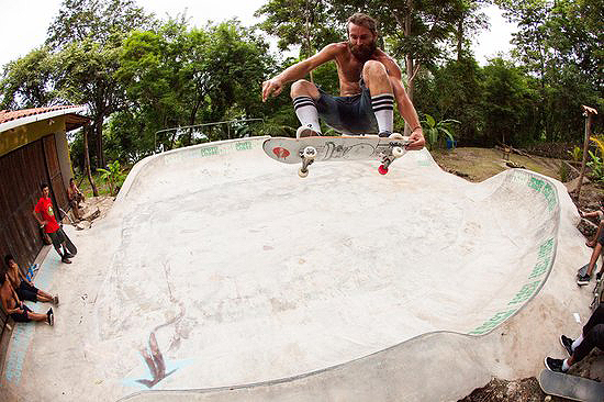 apoyo lodge skatepark nicaragua