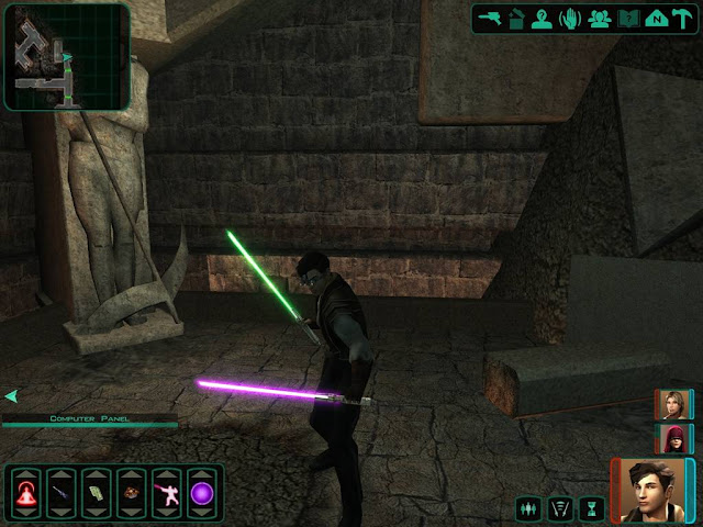Star Wars Knights Of The Old Republic PC Full Version Gameplay 1