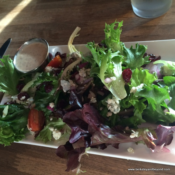 house side salad at Eureka! in Berkeley, California