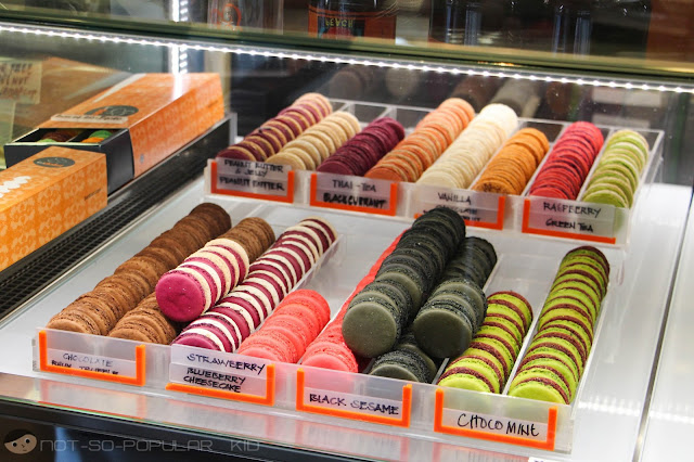 Macaron Selections in Bar Dolci