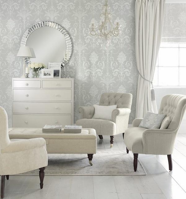Source : Http://www.minimalisti.com/architecture/interior Design /02/laura Ashley Wallpaper Design Ideas.html
