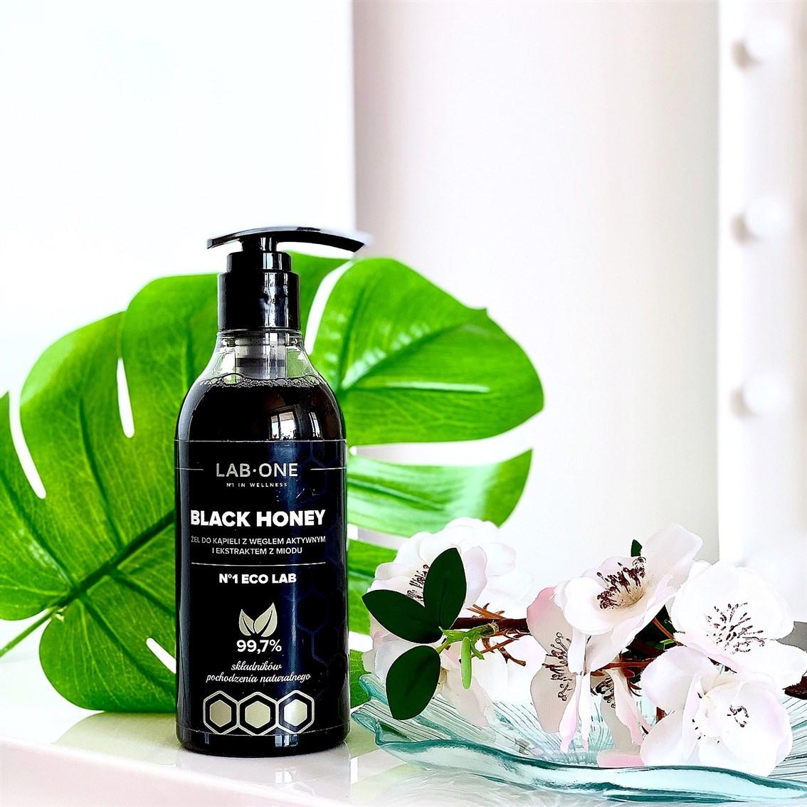 Lab One Black Honey żel do kąpieli z aktywnym węglem i ekstraktem z miodu