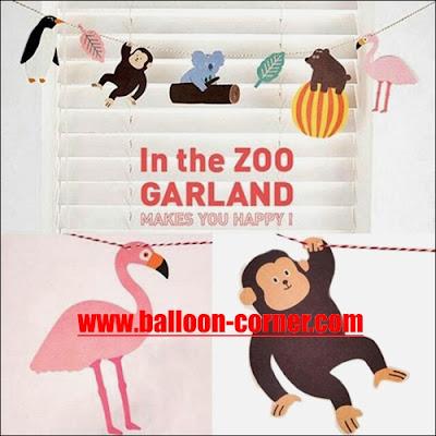Bunting Banner ZOO / Bunting Garland ZOO