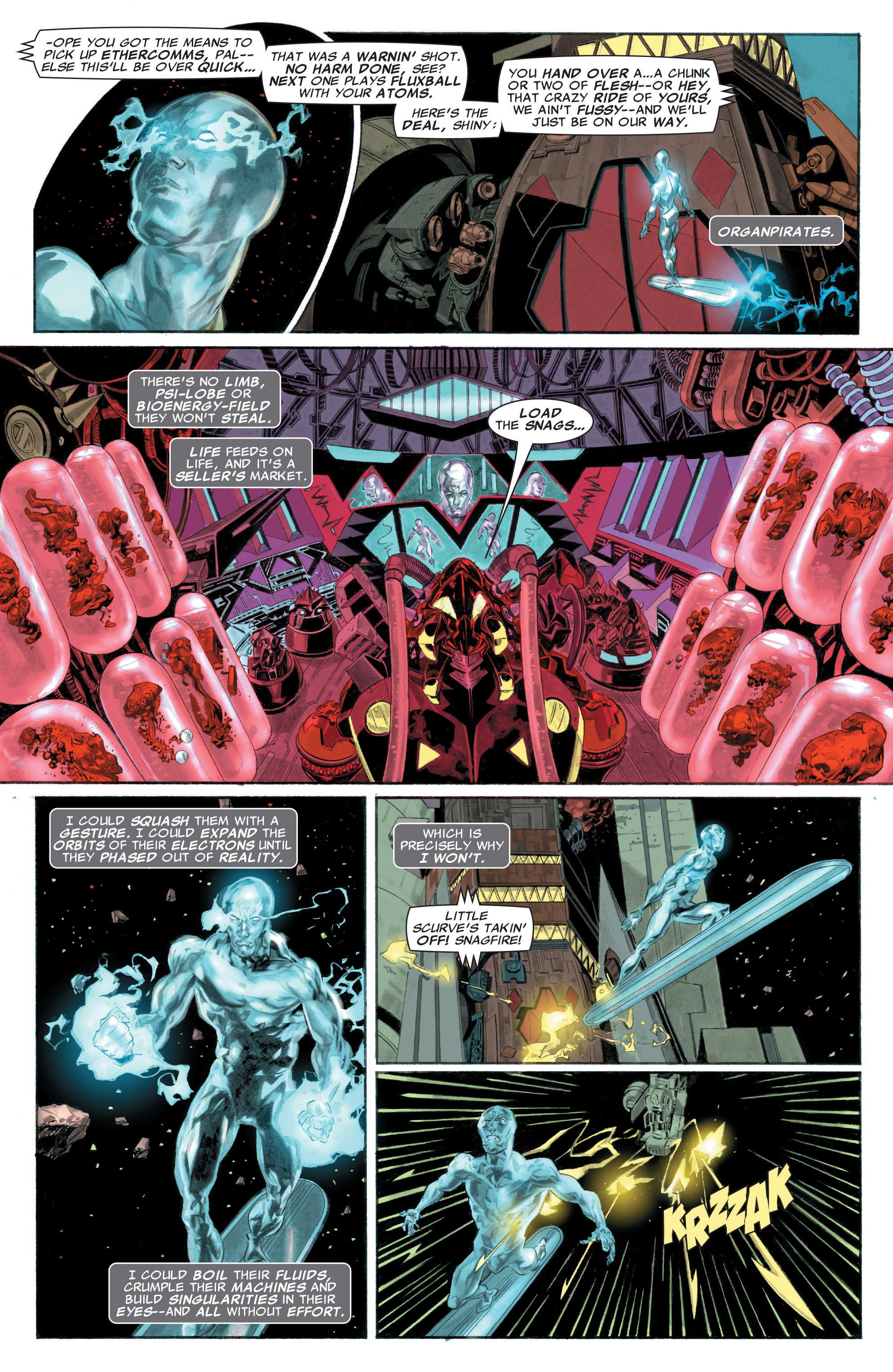 Read online Silver Surfer: In Thy Name comic -  Issue #1 - 6