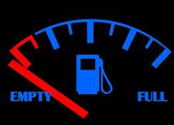 bensin habis
