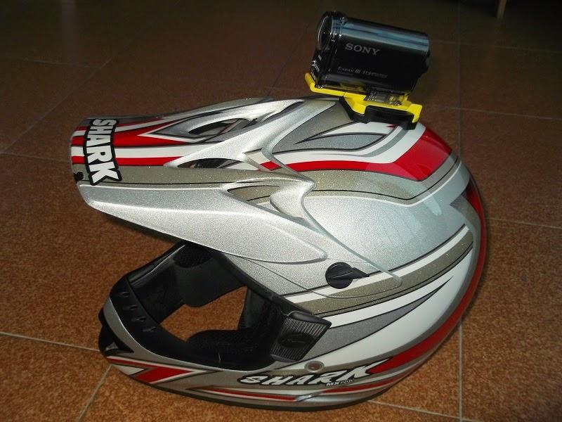 Helmet top cam