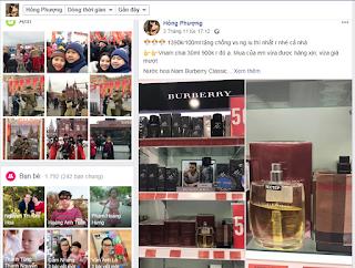 Nước hoa Nam Burberry Classic đang đến sale 50% tại Nga làm quà tặng cho chồng