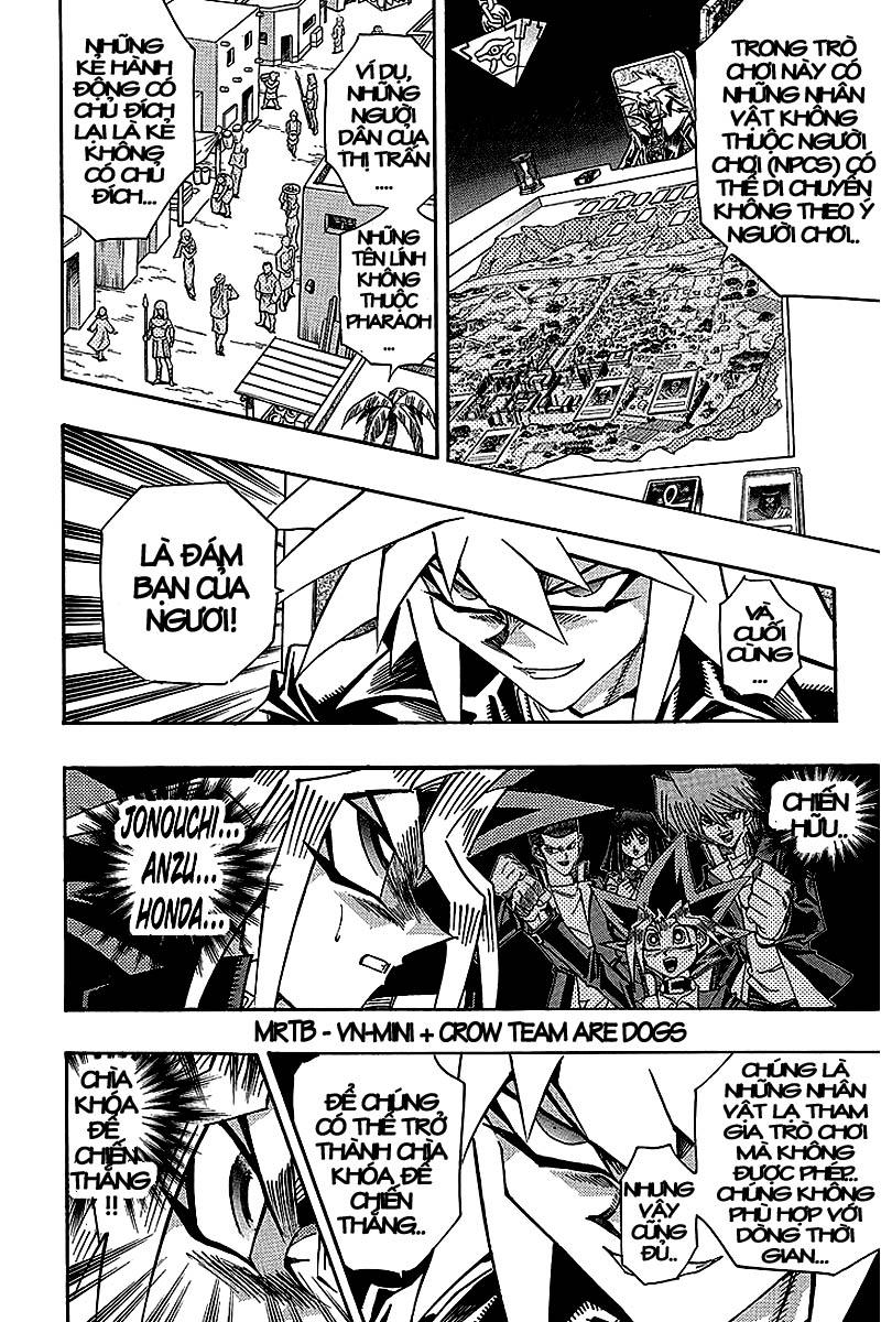 YUGI-OH! chap 321 - thần bóng tối thức tỉnh trang 15